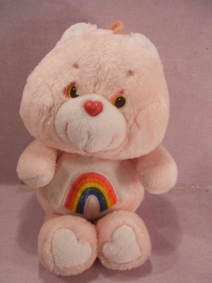 "VINTAGE 12"" CHEER CARE BEAR"